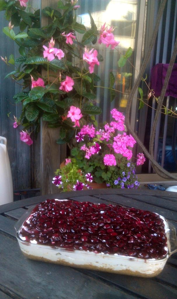 Margaret Sandlin's Cherry Dessert