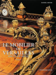 Cover of Volume I of Daniel's treatise on the Versailles furnishings of the 17th and 18th Centuries