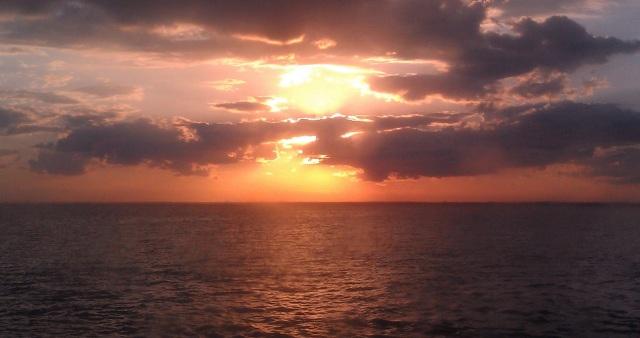 Sunrise or sunset? Fire Island Pines, NY