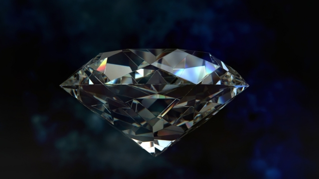 Life imitates art? I found this photo on a European site promoting the conversion of human ashes into diamonds through a patented pressurization process. Who knew? (royalty-free photo)